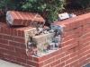 Curb Brick Damage