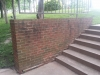 Woods Hall UMSL before tuckpointing