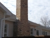 Chimney Repair and New Mortar: Masonry After Photo